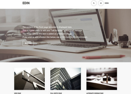 edin wp theme