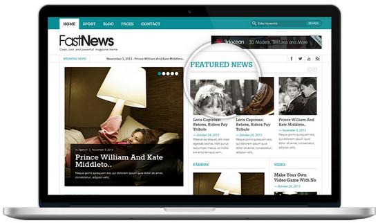 fast news theme