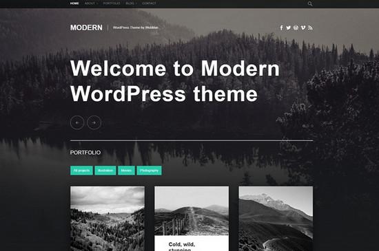 modern wp