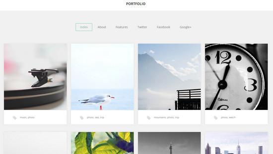 portfolio theme 2