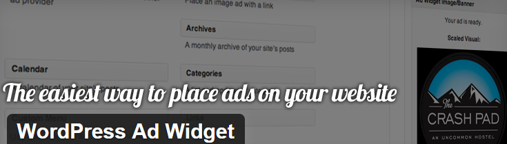 wordpress ad widget plugin