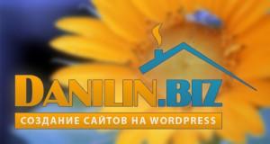 Редизайн сайта Данилин.биз