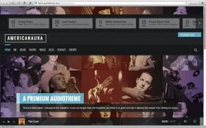 10 лучших шаблонов 2013 года для сайтов музыкантов и музыкальных коллективов под WordPress