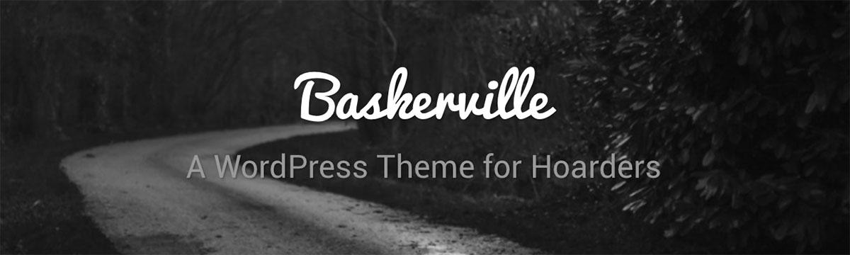 Baskerville — бесплатный шаблон с отзывчивым дизайном и раскладкой в стиле Pinterest