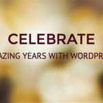 Celebrate бесплатный шаблон для WordPress