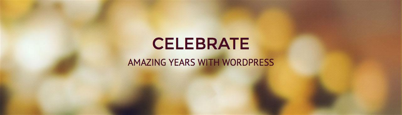 Celebrate — респонсивный шаблон для WordPress бесплатно