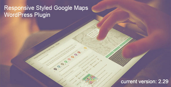 Responsive Styled Google Maps — WordPress Plugin