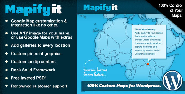 Mapify.it: Customized Google Maps for WordPress