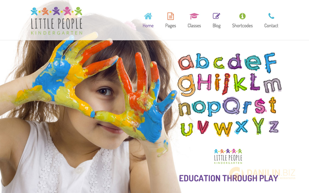 Little People — Kindergarten WordPress Theme