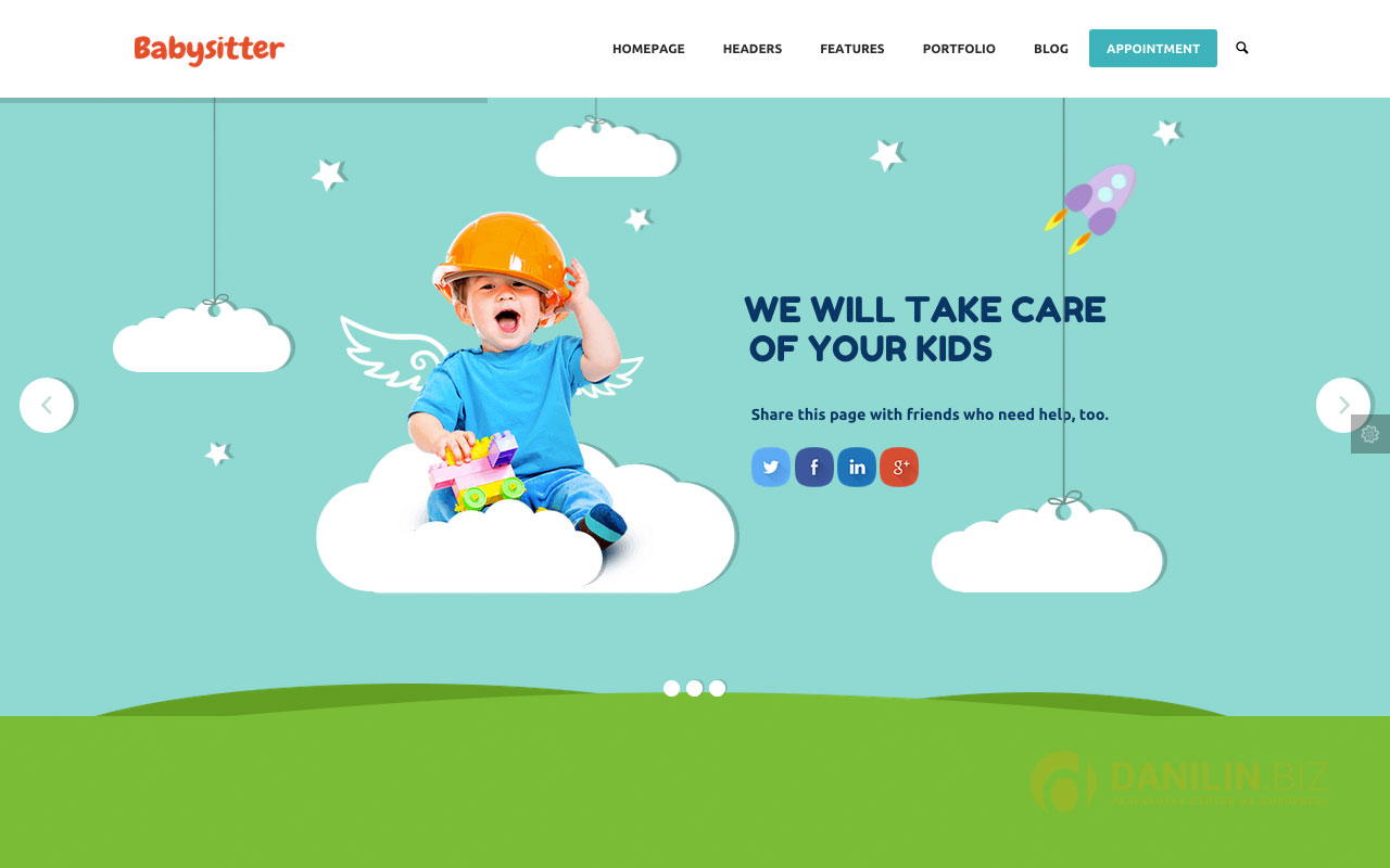 Kids Care — Multi-Purpose Children WordPress Theme