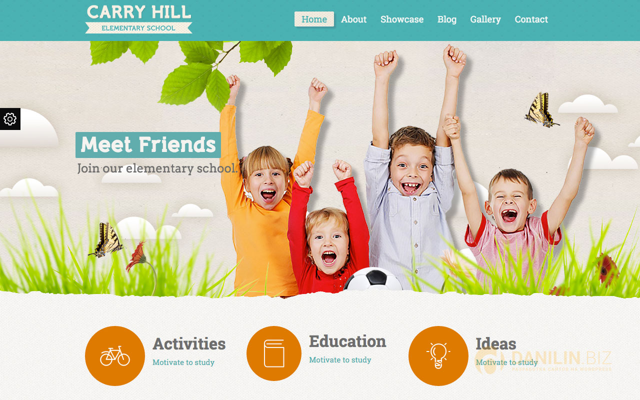 Carry Hill School — Responsive WordPress Theme