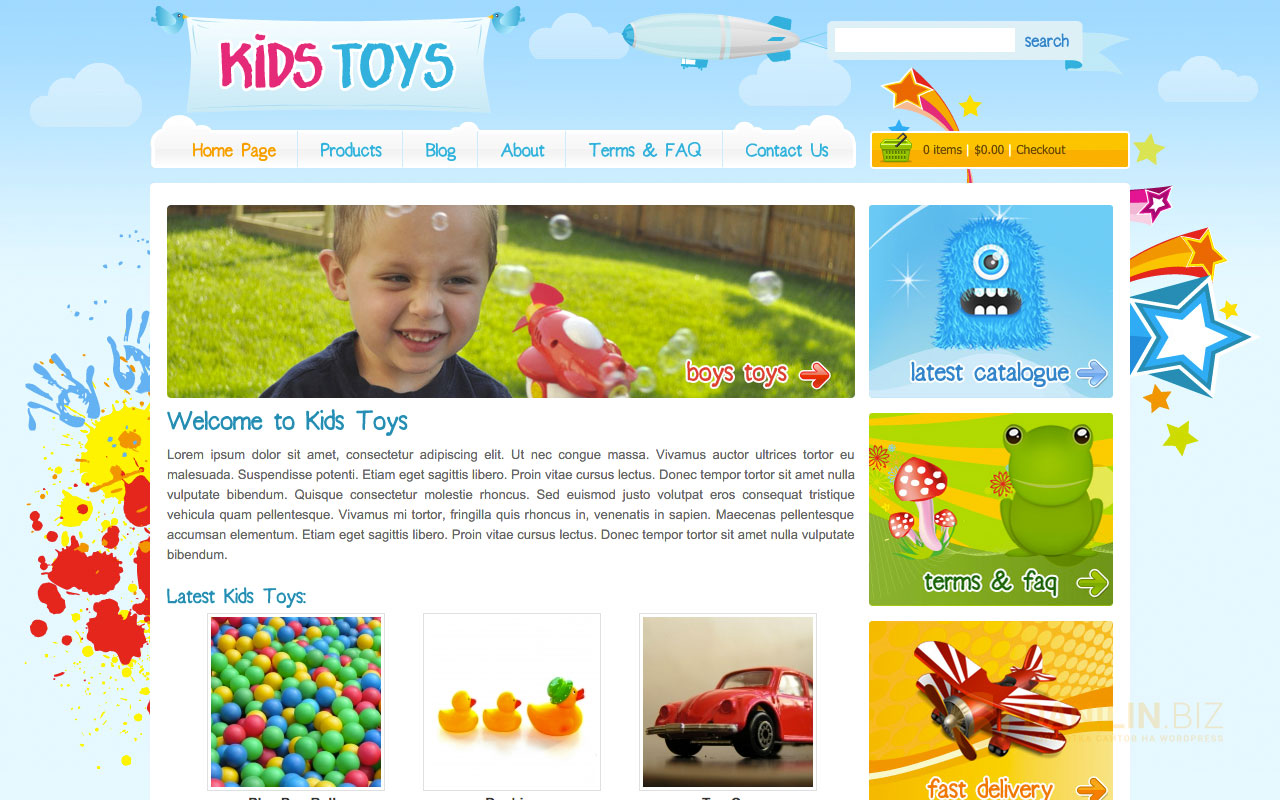 Kids Toys — WordPress Shop Theme