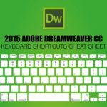 Шорткаты Adobe Dreamweaver CC