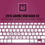 Шорткаты Adobe InDesign CC