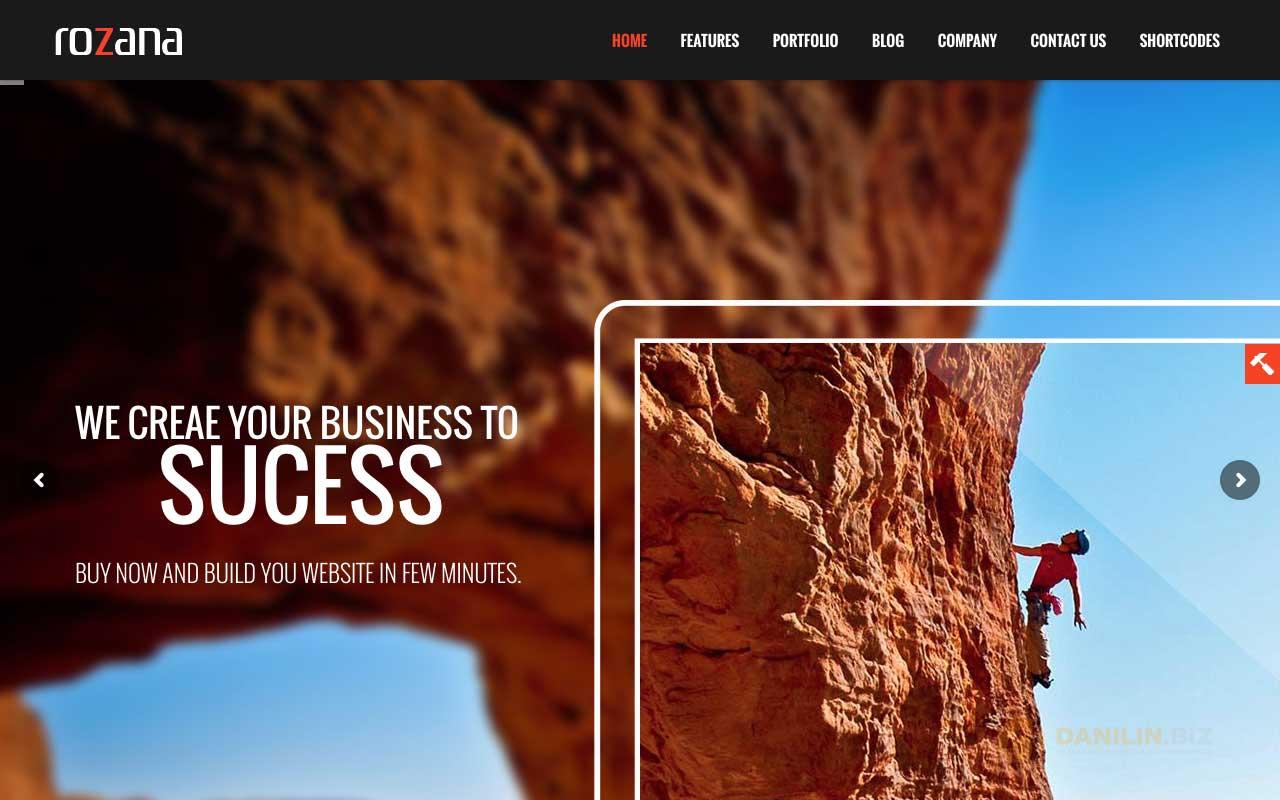 Rozana — Responsive MultiPurpose WordPress Theme