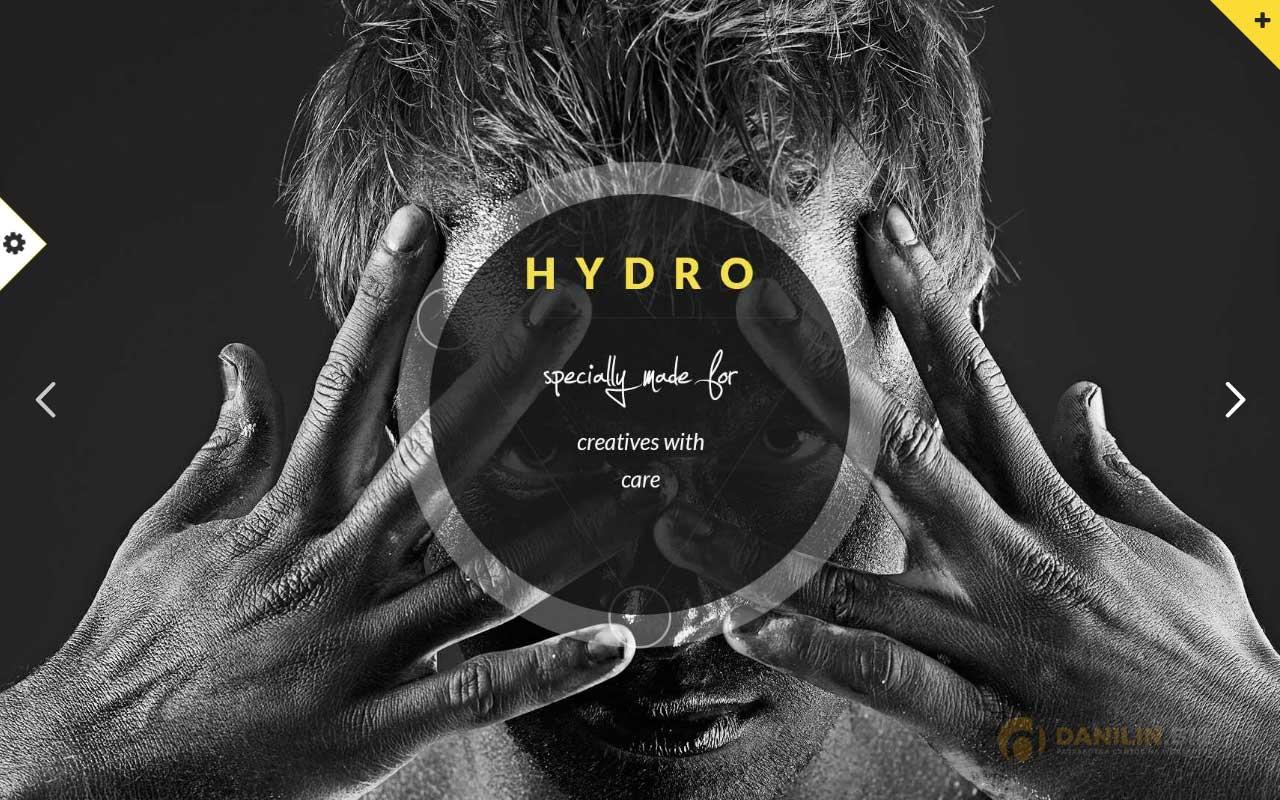 Hydro — One Page Multipurpose WordPress Theme