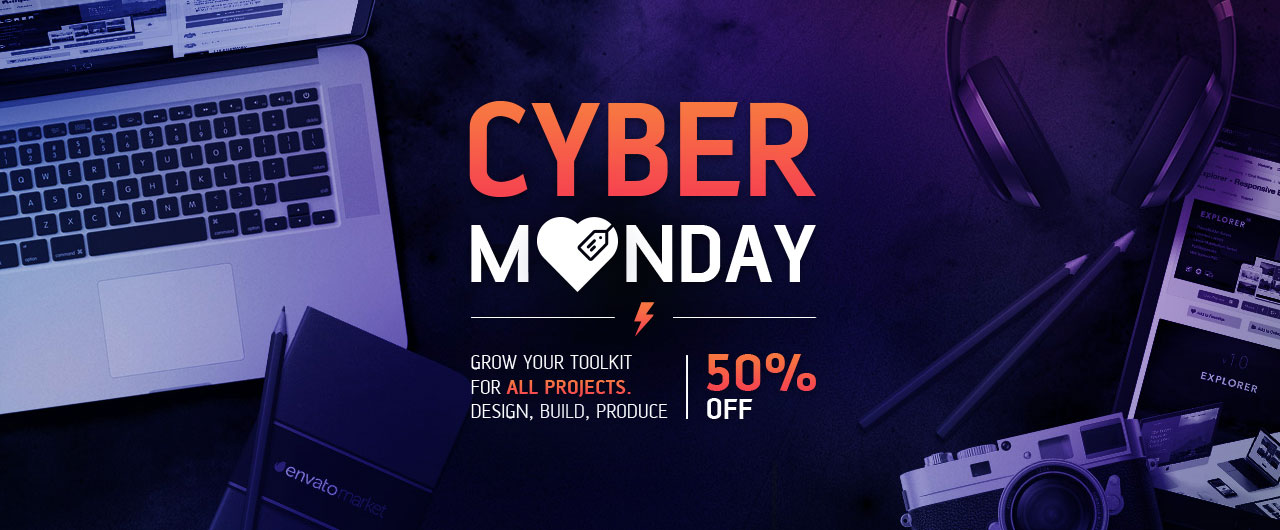 Themeforest Cyber Monday