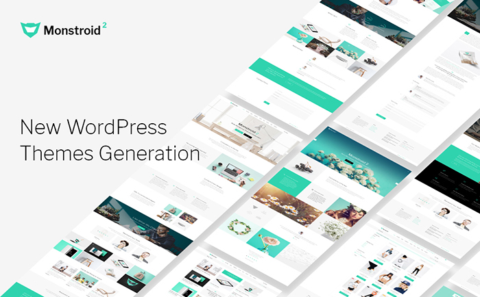 Универсальный WordPress шаблон Monstroid2