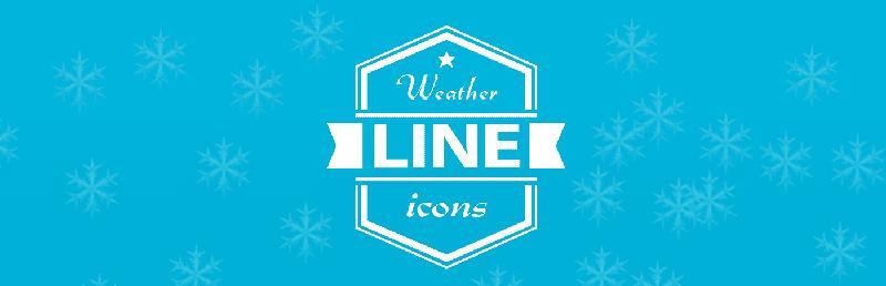 Бесплатные погодные иконки в контурном стиле в формате AI от Vadivel G