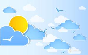 25 бесплатных наборов погодных иконок