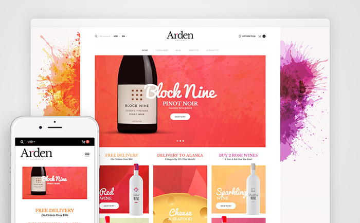 Wine Club WooCommerce Theme