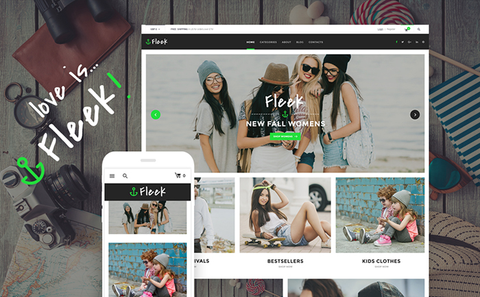 Urban Fashion Store WordPress Theme