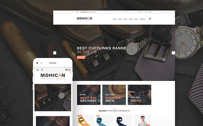 Fashion Accessories WooCommerce Theme