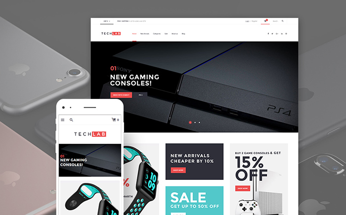 Innovative Electronics WooCommerce Theme