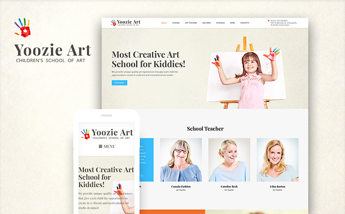 Kids School & Kindergarten WordPress Theme