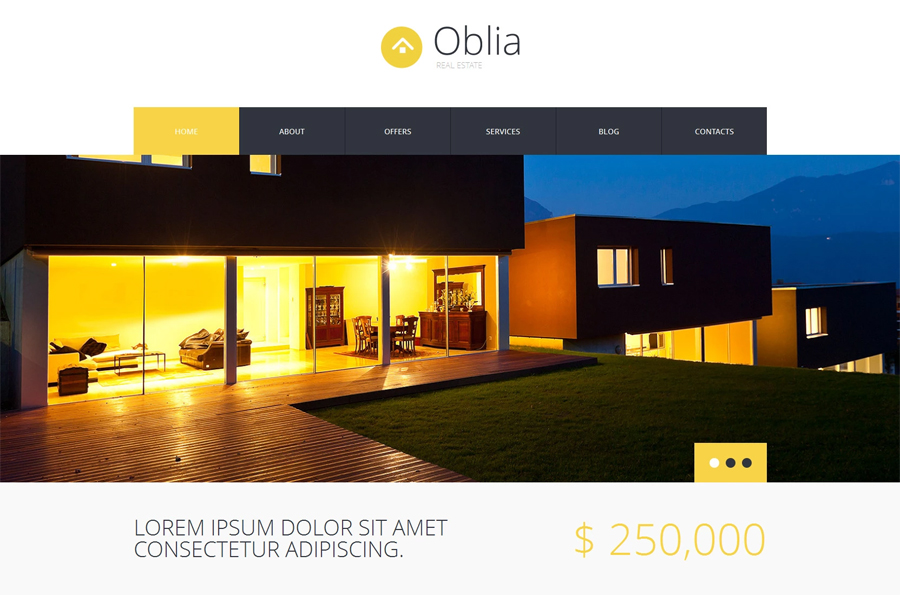 Dream House Bureau WordPress Theme