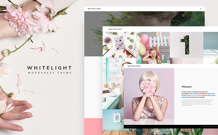 Адаптивный WordPress шаблон WhiteLight