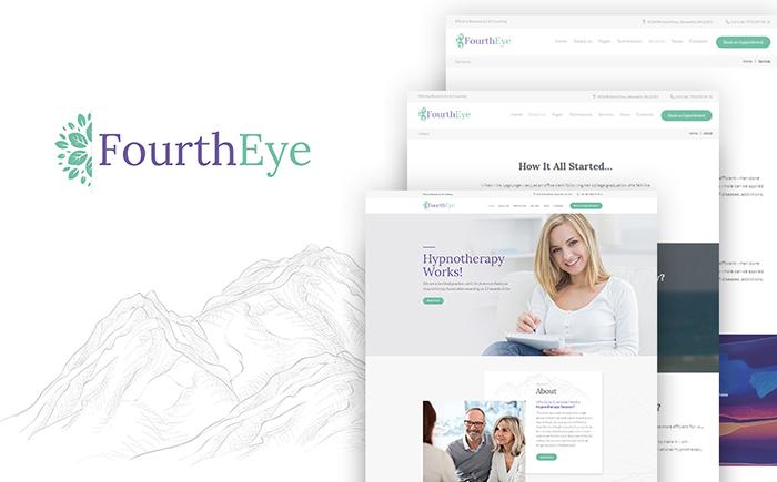 Адаптивный WordPress шаблон Fourtheye
