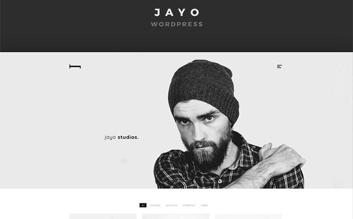 Адаптивный WordPress шаблон Jayo