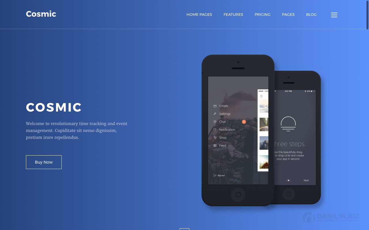 Cosmic — App Landing Multi-Purpose WordPress Theme