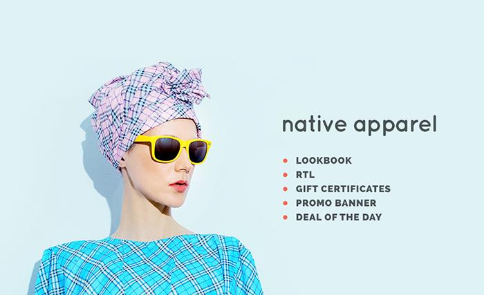 Адаптивный OpenCart шаблон №64165 на тему магазин одежды