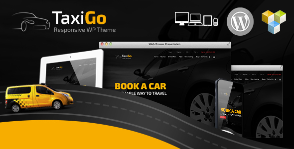 TaxiGo - Taxi Company & Cab Service WordPress Theme