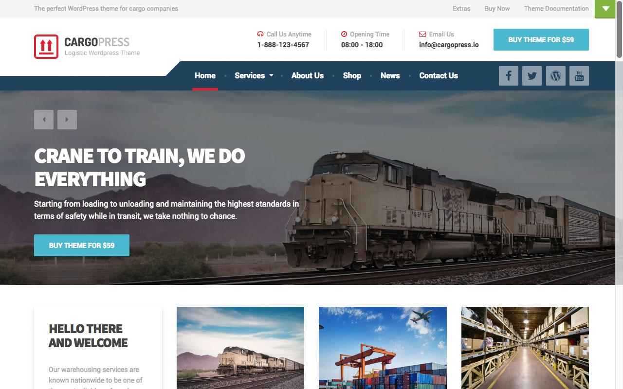 CargoPress — логистика, склад, транспорт