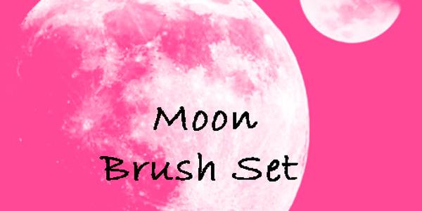 Moon Brush Set