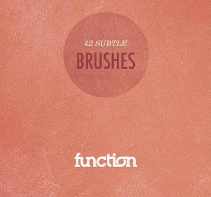 42 Subtle Brushes