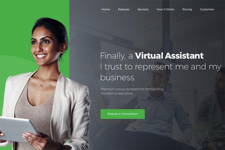 Revirta | Шаблон для услуг виртуального ассистента