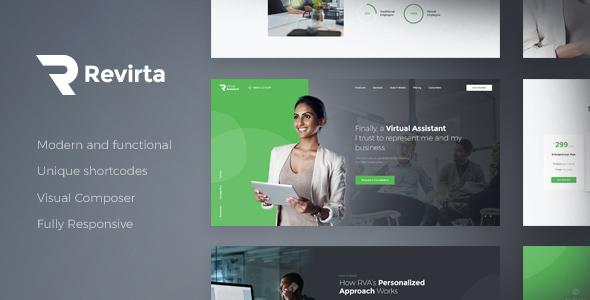 Revirta — Virtual Assistant WordPress Theme