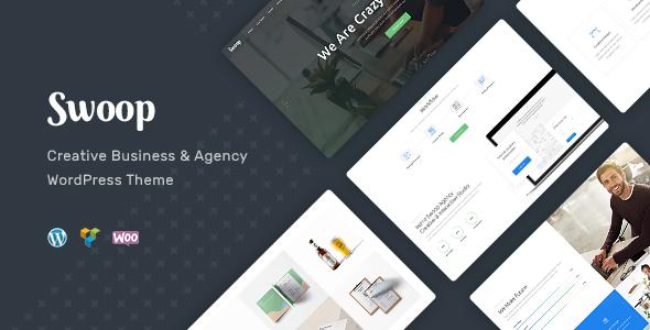 Swoop — Web Studio & Creative Agency WordPress Theme