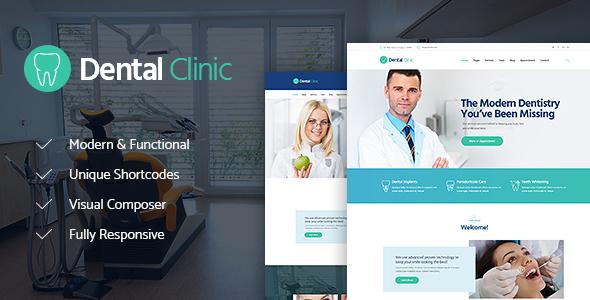 Dental Clinic, Medicine & Healthcare WordPress Theme