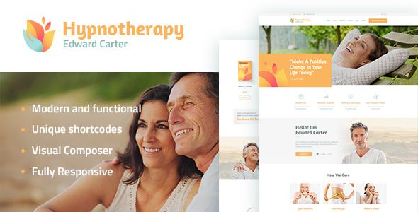 Hypnotherapy and Psychologist WordPress Theme