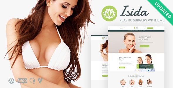 Isida — Plastic Surgery Clinic | Medical WordPress Theme