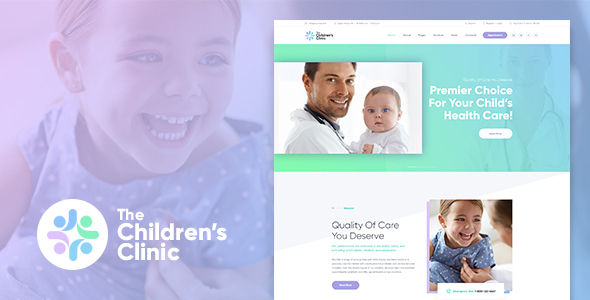 The Children's Clinic WordPress Theme