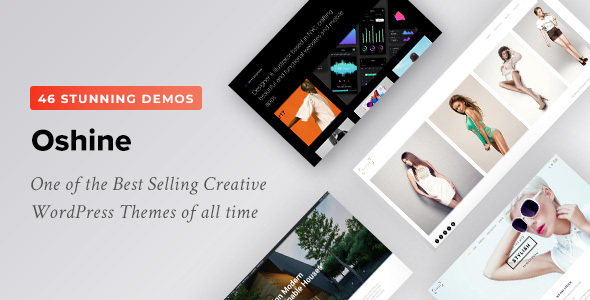 Oshine – Multipurpose Creative Theme