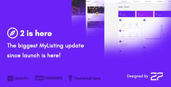MyListing — Directory & Listing WordPress Theme
