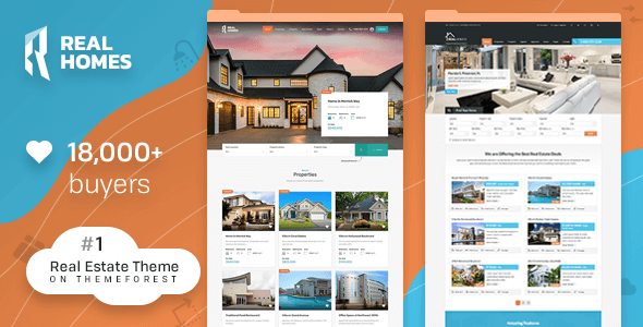 Real Homes — WordPress Real Estate Theme