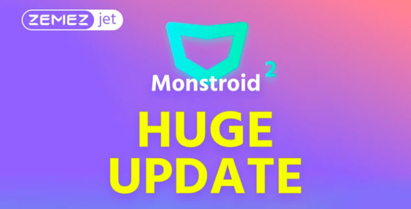 Monstroid2 — многоцелевой WordPress шаблон